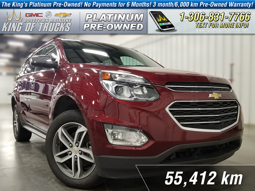 Pre-Owned 2016 Chevrolet Equinox LTZ One Owner | Leather | Sunroof | Nav