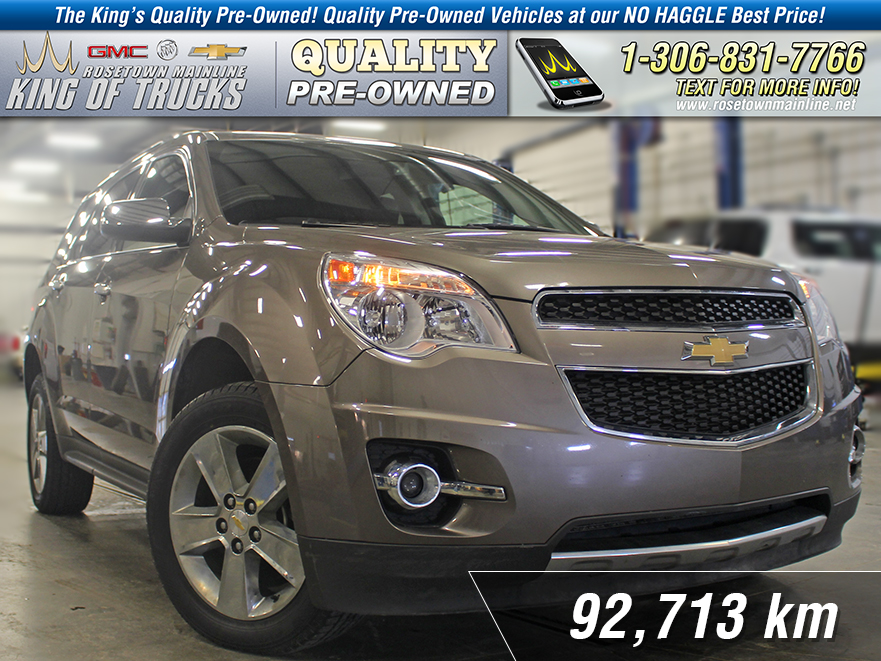 Pre-Owned 2012 Chevrolet Equinox 2LT Leather | Nav | Sunroof