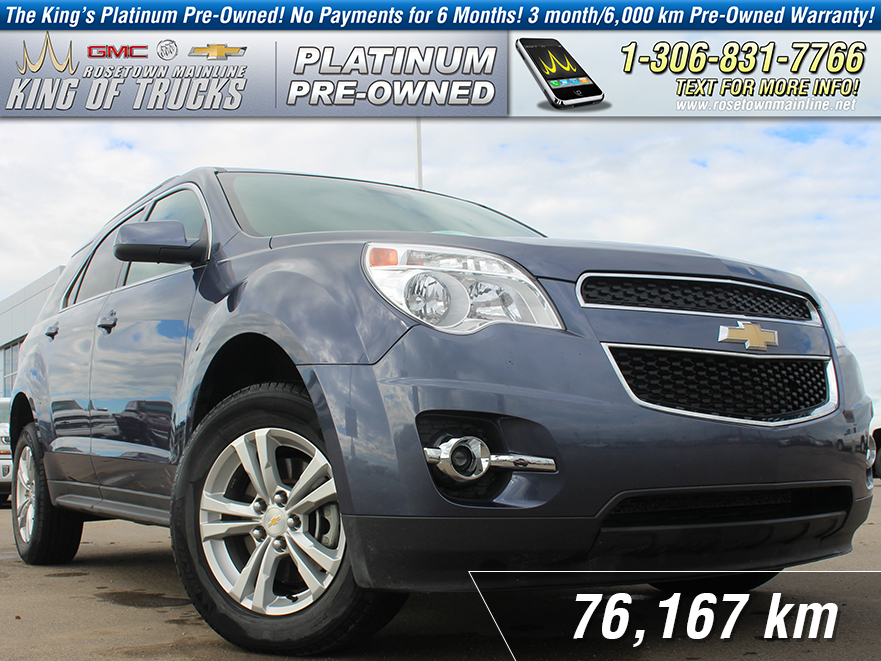 Pre-Owned 2013 Chevrolet Equinox LT Local | One Owner | Heated Seats