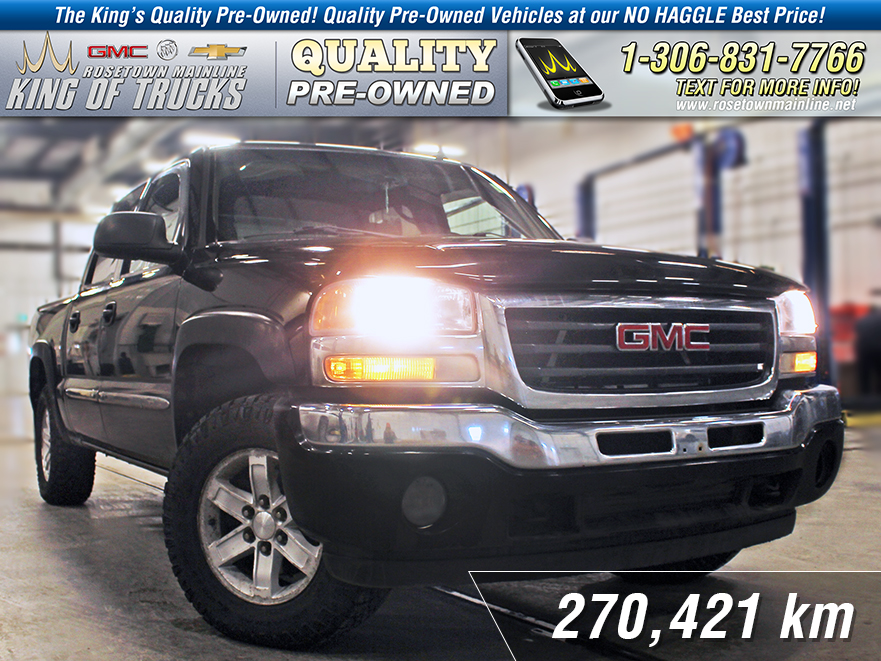 Pre-Owned 2007 GMC Sierra 1500 Classic SLT Leather | DVD | Sunroof