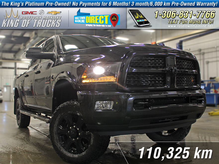 Pre-Owned 2015 Ram 3500 Laramie Lifted | Leather