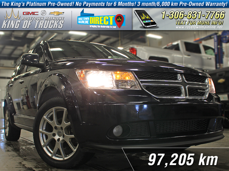 Pre-Owned 2011 Dodge Journey R/T Local | Leather AWD