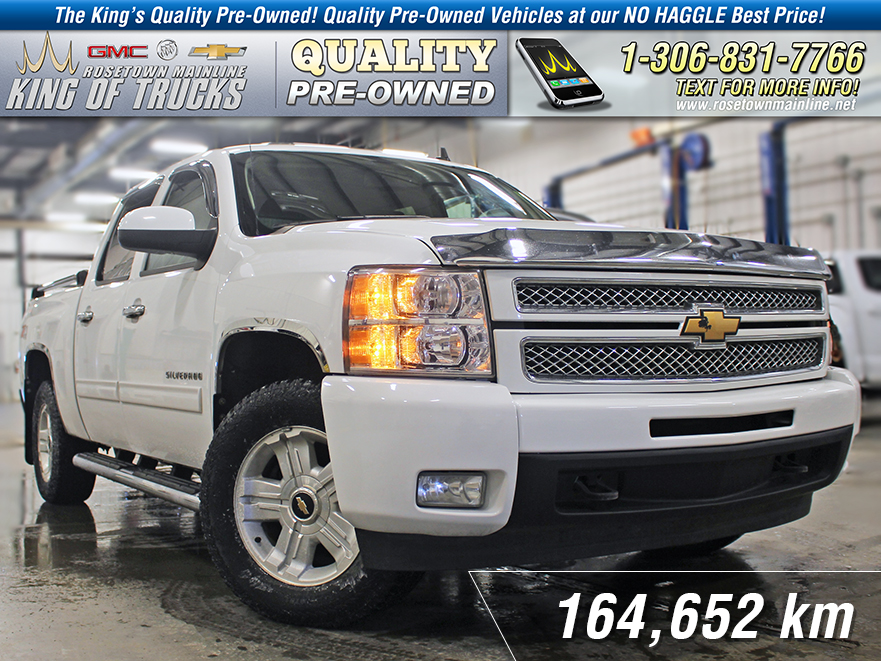 Pre-Owned 2012 Chevrolet Silverado 1500 LTZ One Owner | Leather | Sunroof