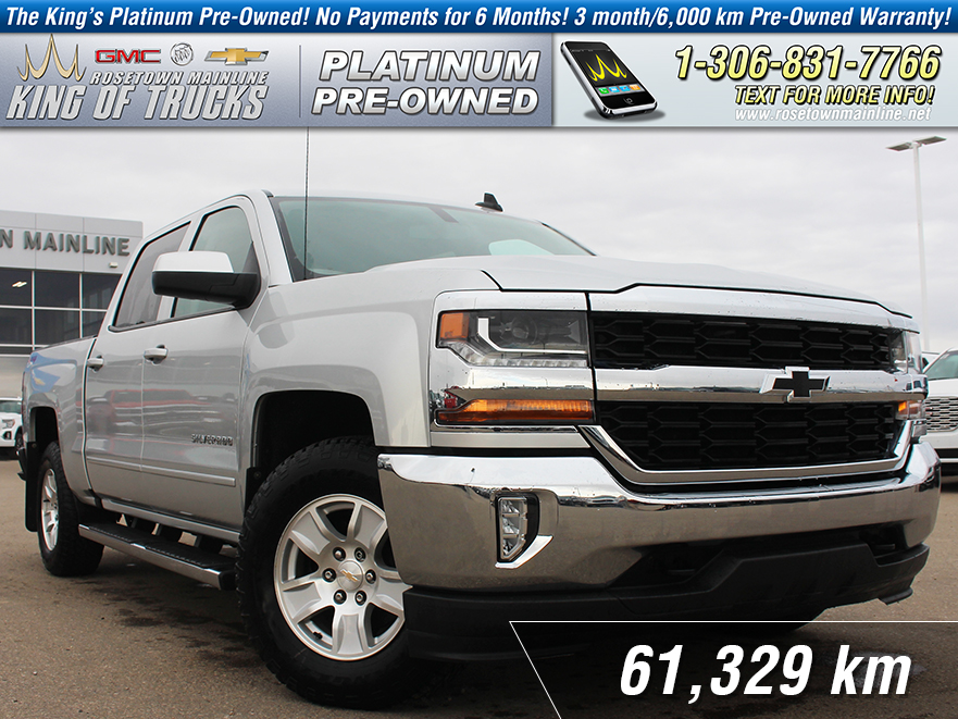 pre-owned 2017 chevrolet silverado 1500 lt local | one owner