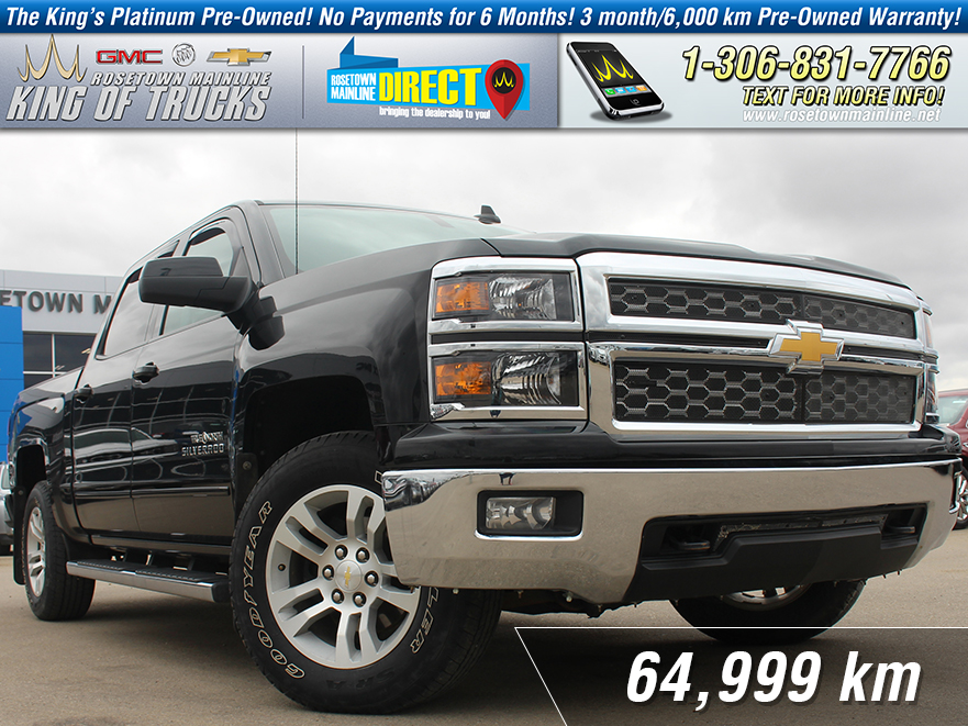 Pre-Owned 2015 Chevrolet Silverado 1500 LT Remote Start | Wi-Fi