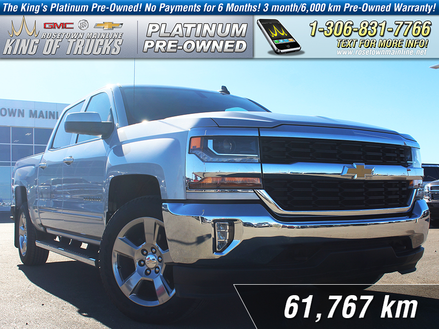 Pre-Owned 2016 Chevrolet Silverado 1500 LT Local | One Owner | Low KM
