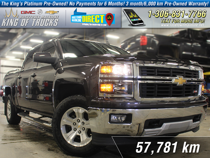Pre-Owned 2015 Chevrolet Silverado 1500 LT Leather | Heated Seats | Box Rails