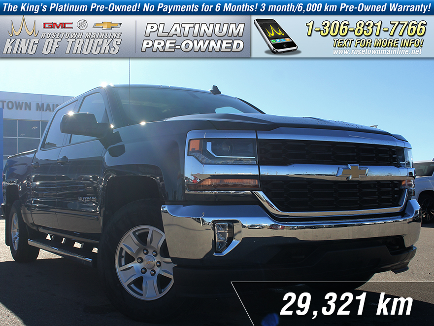 Pre-Owned 2017 Chevrolet Silverado 1500 LT One Owner | Leather Bench | Low KM