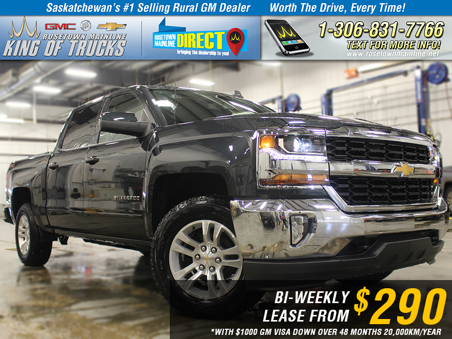 New 2018 Chevrolet Silverado 1500 LT LEASE FROM $290 BI-WEEKLY*
