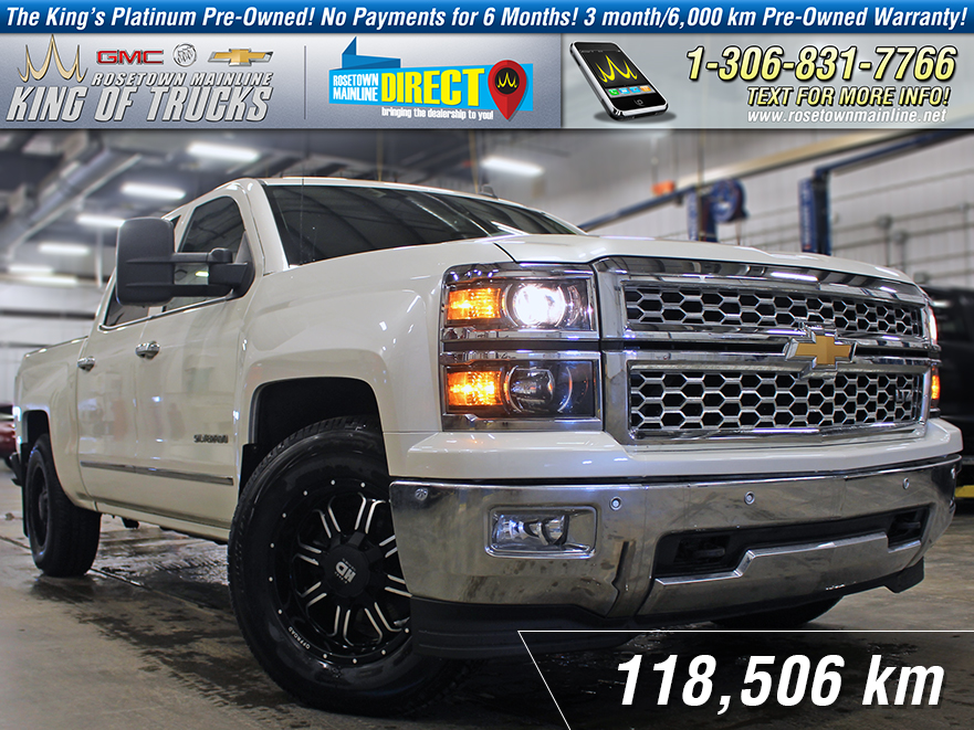 Pre-Owned 2014 Chevrolet Silverado 1500 LTZ 6.2L | Leather