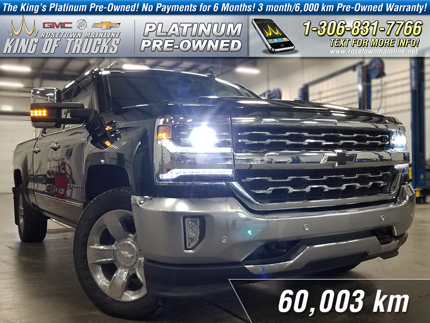 pre-owned 2017 chevrolet silverado 1500 ltz one owner | max