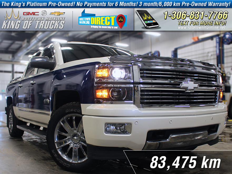 Pre-Owned 2014 Chevrolet Silverado 1500 High Country 6.2L | Custom Paint