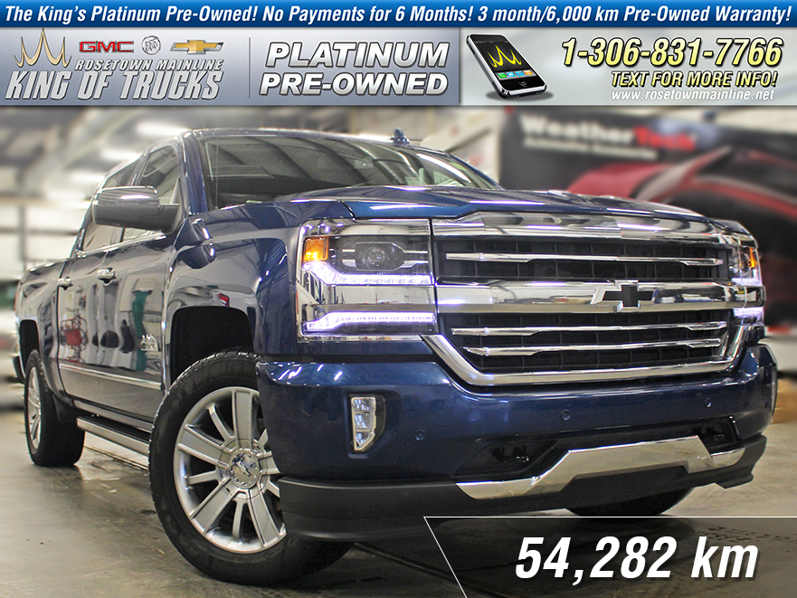 Pre-Owned 2017 Chevrolet Silverado 1500 High Country Local | One Owner | 6.2L