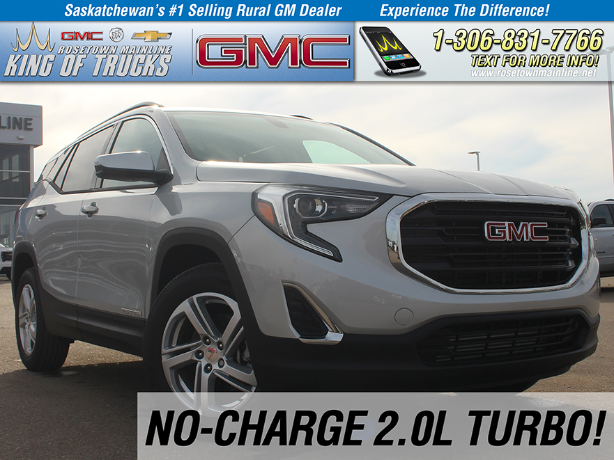 New 2019 GMC Terrain SLE No-Charge 2.0L!