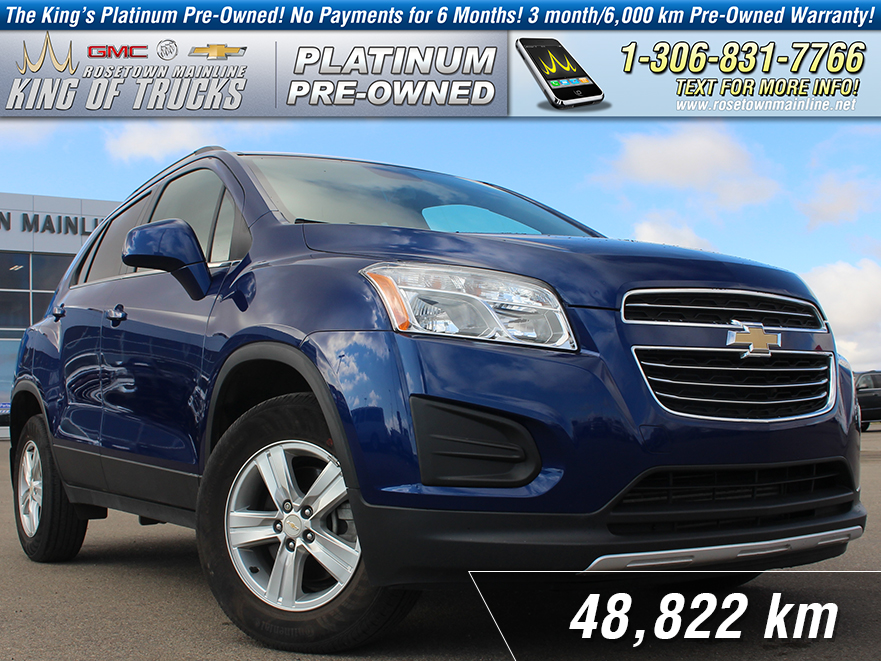Pre-Owned 2016 Chevrolet Trax LT 1.4L Turbo | Remote Start | Low KM