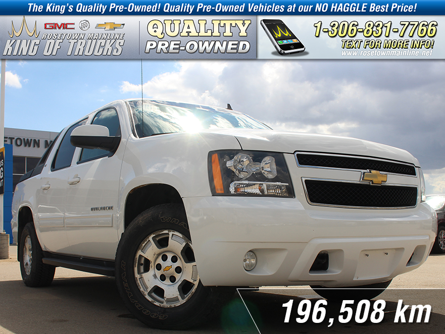 Pre-Owned 2010 Chevrolet Avalanche 1500 LT Leather | Remote Start
