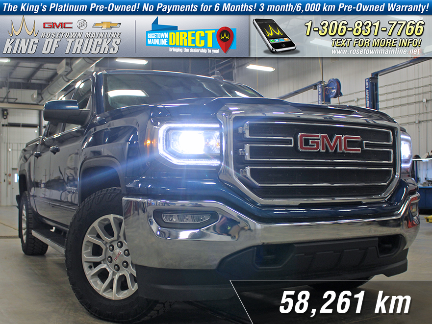 Pre-Owned 2016 GMC Sierra 1500 SLE Local | One Owner | Lease Buy-Back