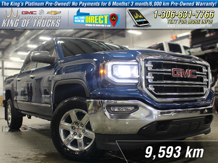 Pre-Owned 2018 GMC Sierra 1500 SLT One Owner | Like New