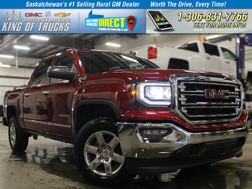 New 2018 GMC Sierra 1500 SLT Leather