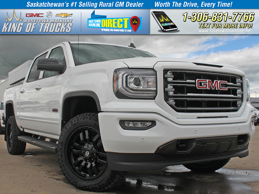 New 2018 GMC Sierra 1500 SLT King's Kustom Edition