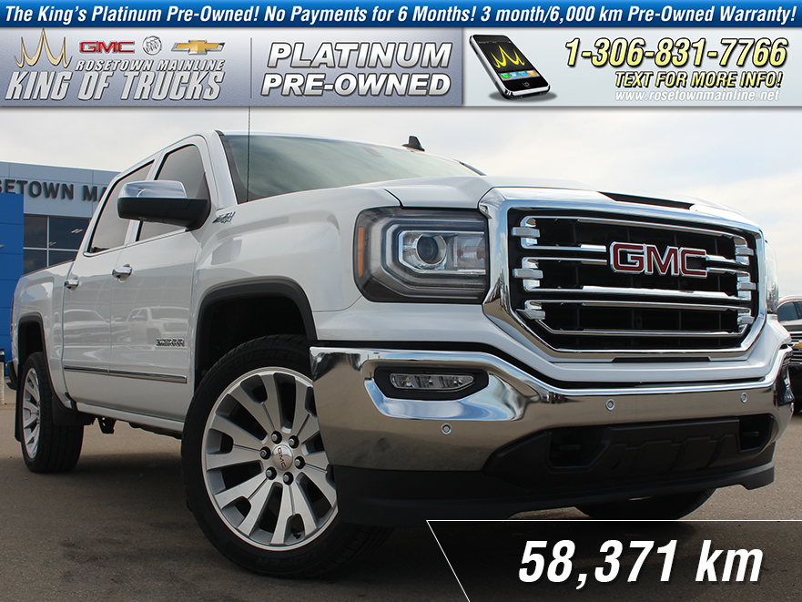 Pre-Owned 2017 GMC Sierra 1500 SLT Local | One Owner | 6.2L