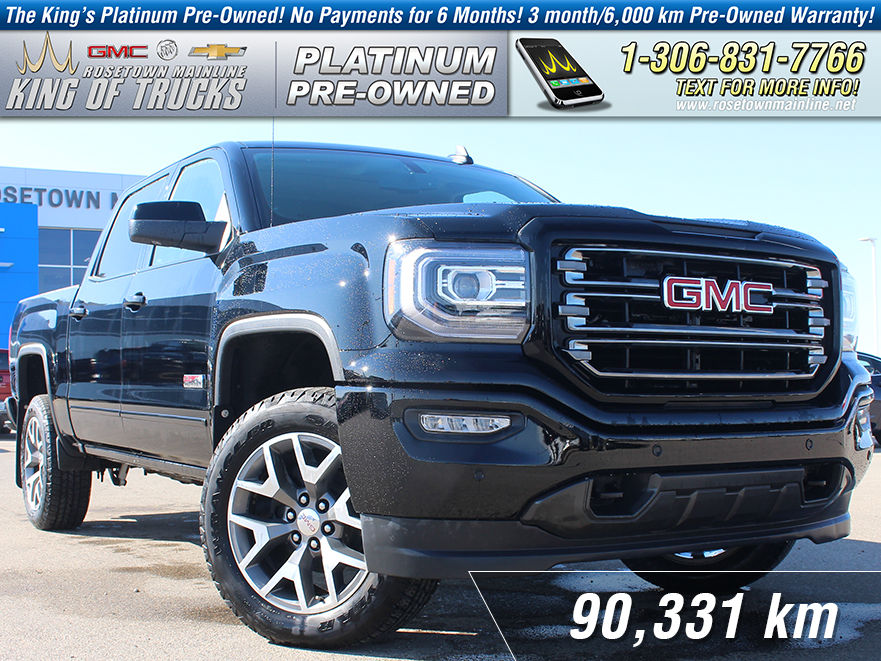 Pre-Owned 2017 GMC Sierra 1500 SLT One Owner | Leather | 6.2L