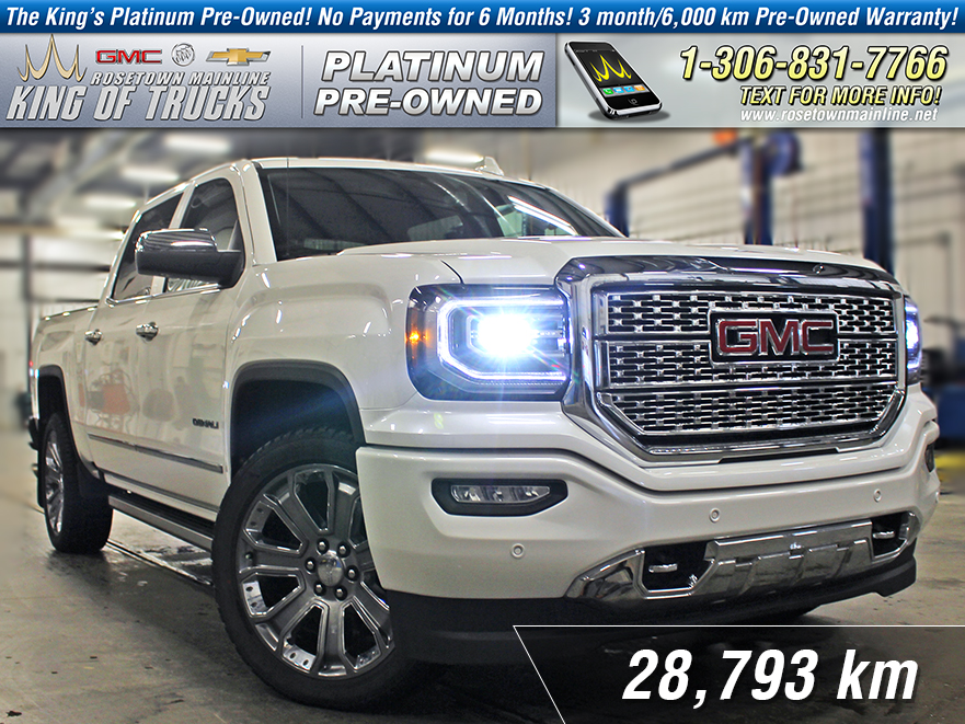 Pre-Owned 2017 GMC Sierra 1500 Denali Local | One Owner | Nav