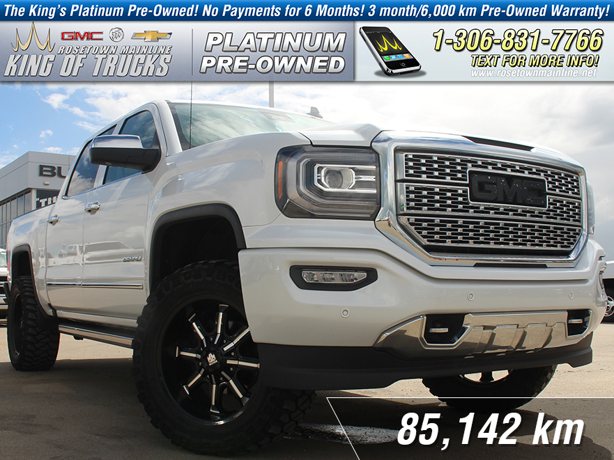 Pre-Owned 2016 GMC Sierra 1500 Denali Leather | Nav | Sunroof