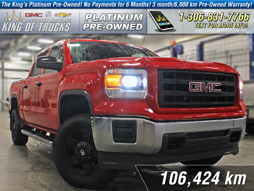 Pre-Owned 2014 GMC Sierra 1500 One Owner | Tonneau Cover