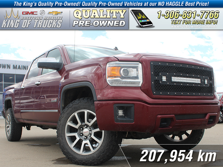 Pre-Owned 2014 GMC Sierra 1500 SLE Light Bar | LED Fog Lights | All Terrain