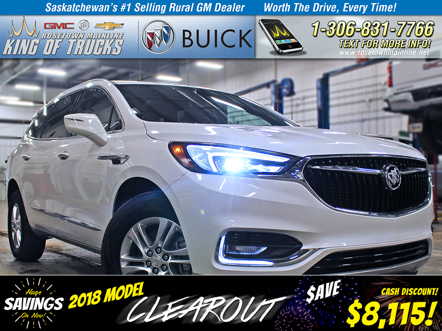 New 2018 Buick Enclave Essence CLEAROUT PRICE!