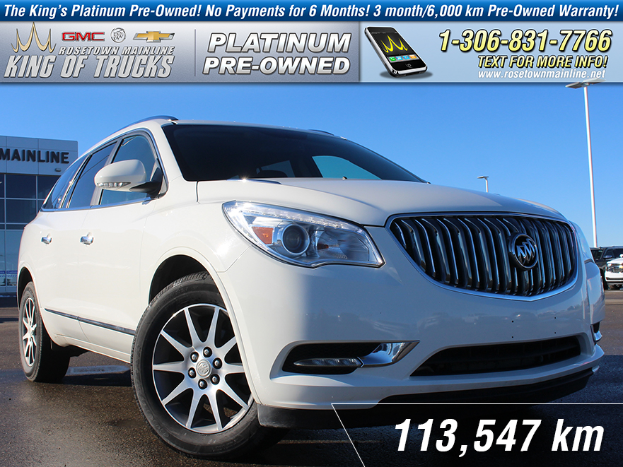 Pre-Owned 2014 Buick Enclave Leather Local | One Owner