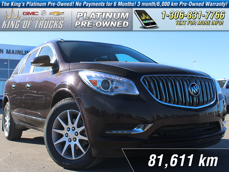 Pre-Owned 2016 Buick Enclave Leather Local | One Owner | Heated Seats