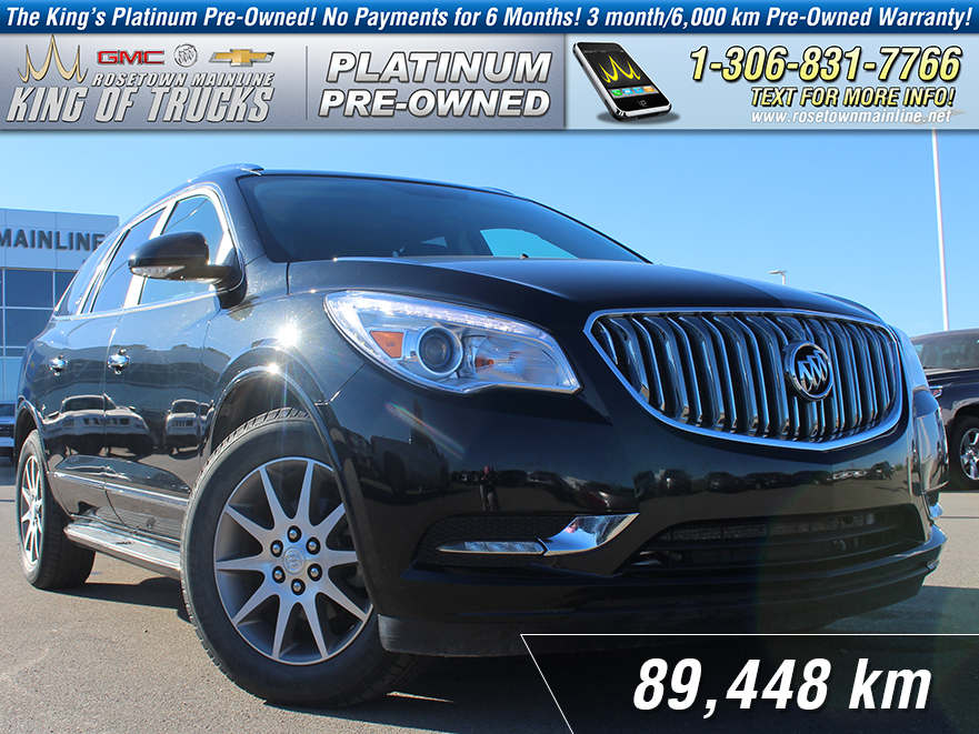 Pre-Owned 2015 Buick Enclave Leather One Owner | Sunroof | DVD