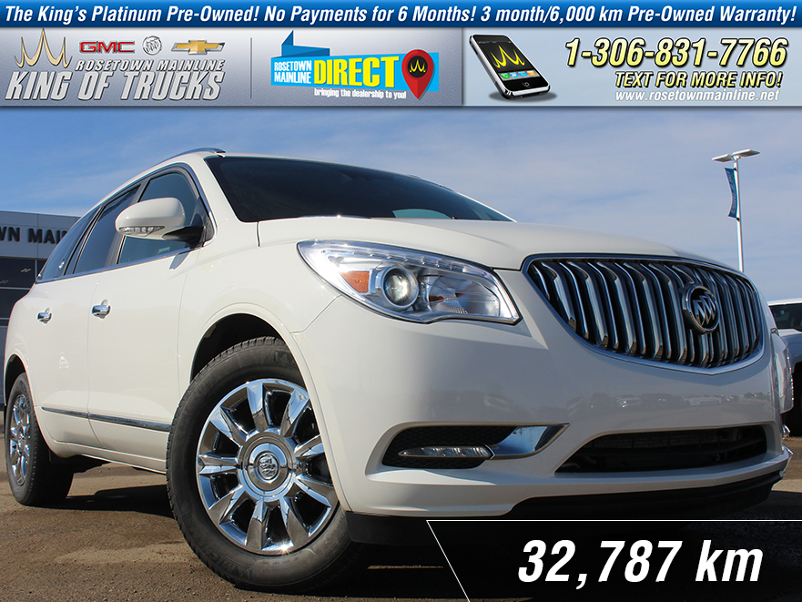Pre-Owned 2015 Buick Enclave Premium With Navigation & AWD