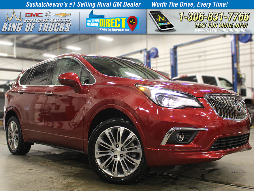 New 2018 Buick Envision Premium AWD
