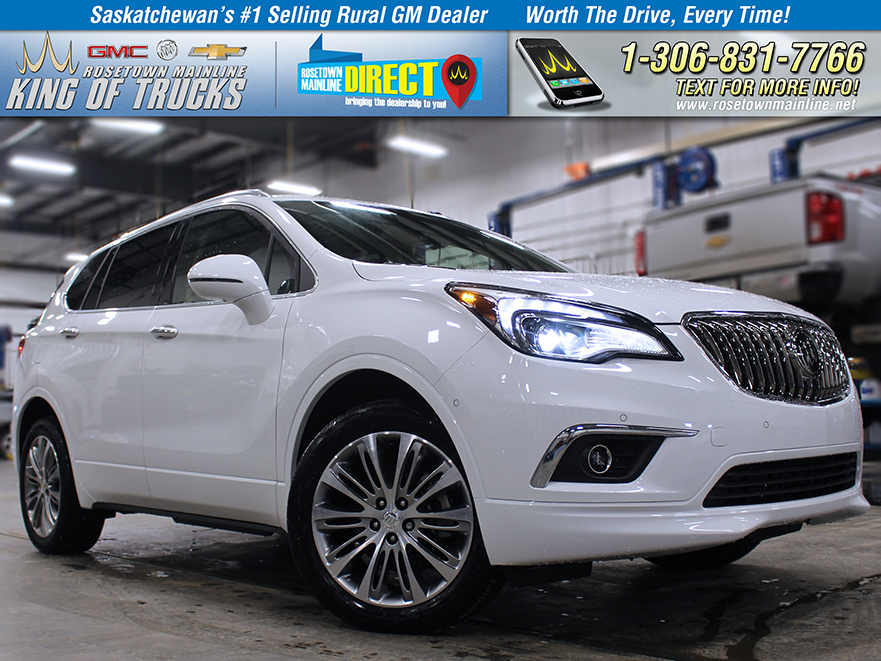 New 2018 Buick Envision Premium II With Navigation & AWD
