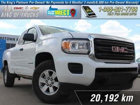 Pre-Owned 2015 GMC Canyon 4WD One Owner | Extended Cab | Low KM