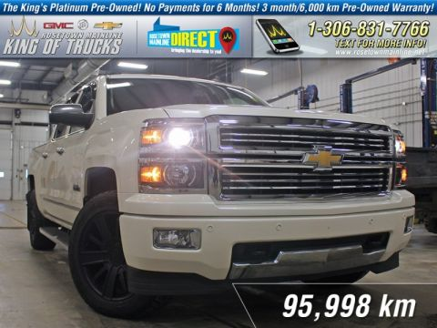 Pre-Owned 2014 Chevrolet Silverado 1500 High Country Leather | PST Paid